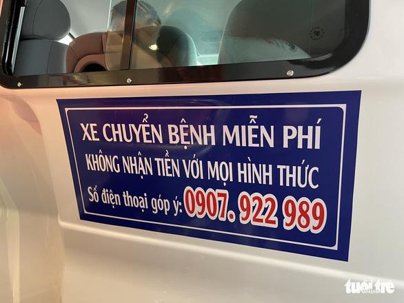 Vay ngân hàng 300 triệu mua xe cứu thương chở người nghèo miễn phí - Ảnh 2.