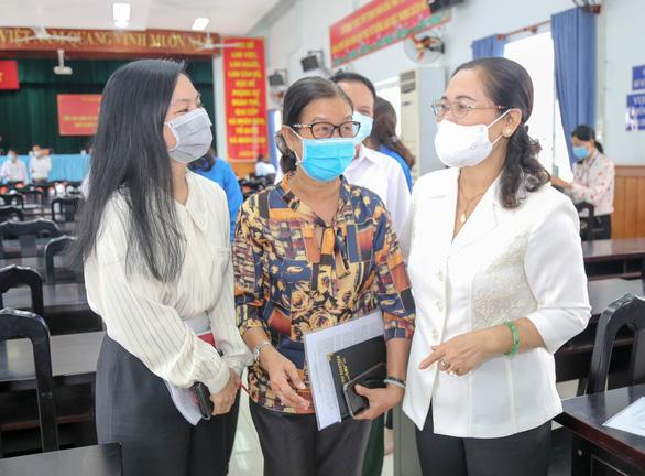 Chủ tịch HĐND TP.HCM Nguyễn Thị Lệ: Kỳ bầu cử đặc biệt, cử tri thực hiện hai trách nhiệm lớn - Ảnh 1.