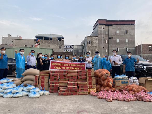 Bắc Giang chi 18 tỉ hỗ trợ khẩn cấp 24.000 công nhân vì COVID-19 - Ảnh 1.