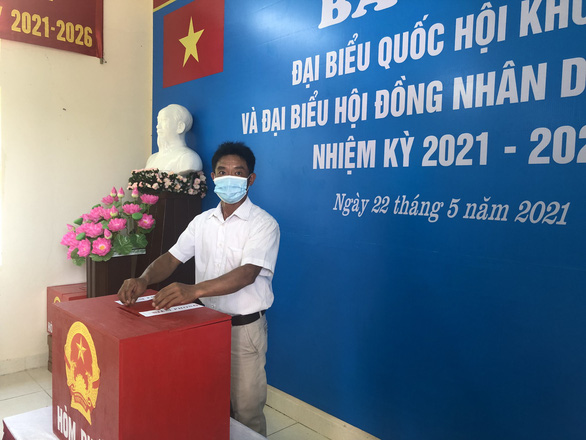 Bầu cử sớm tại huyện đảo Bạch Long Vỹ và đỉnh Lò Xo - Ảnh 3.