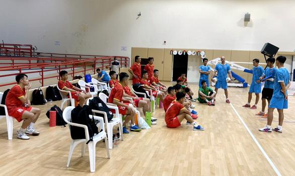 BĐTV trực tiếp trận tranh vé dự World Cup futsal 2021 Việt Nam - Lebanon - Ảnh 1.