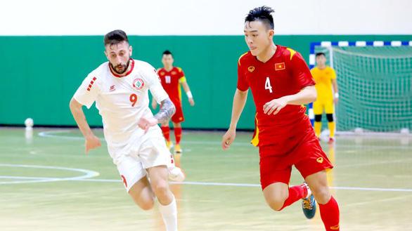 Hòa futsal Lebanon 0-0, Việt Nam có chút lợi thế trước trận lượt về - Ảnh 2.