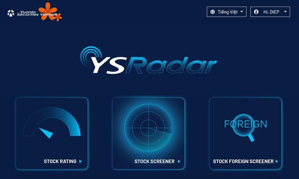 Siêu công cụ phân tích cổ phiếu YSradar: Chuyên gia đã dùng, còn bạn? - Ảnh 2.