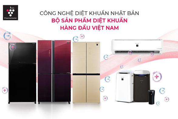 Sharp giới thiệu tủ lạnh tích hợp công nghệ hỗ trợ diệt khuẩn Plasmacluster Ion - Ảnh 5.