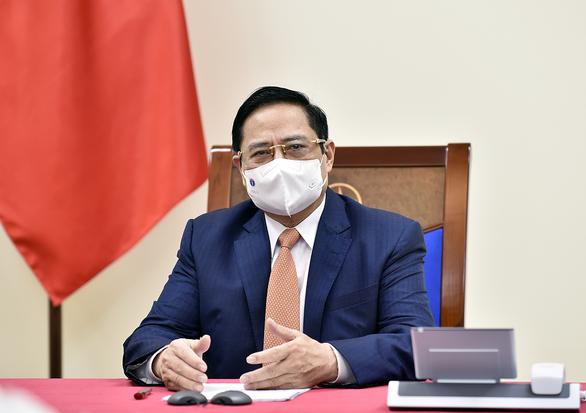 Thủ tướng Phạm Minh Chính đề nghị Úc ưu tiên vắc xin cho Việt Nam - Ảnh 1.
