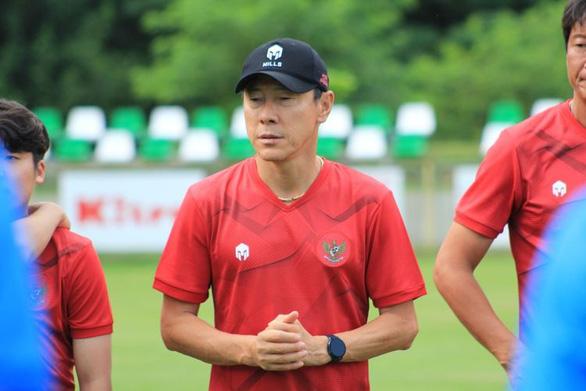 HLV Shin Tae Yong cảm ơn cầu thủ Indonesia sau trận thua Afghanistan - Ảnh 1.