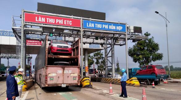Bộ trưởng đề nghị Quảng Trị xin Thủ tướng mua lại trạm BOT Trường Thịnh - Ảnh 1.