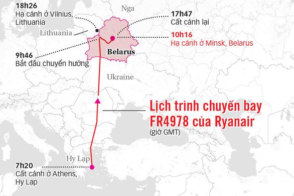 Châu Âu trừng phạt Belarus - Ảnh 3.