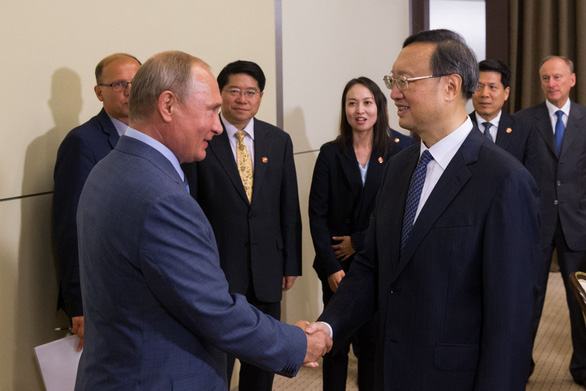 Ông Putin: Quan hệ Nga - Trung đang tốt nhất trong lịch sử - Ảnh 1.