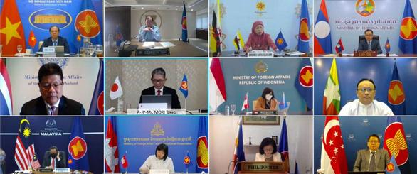 ASEAN - Nhật Bản nhất trí đảm bảo an ninh và an toàn hàng hải ở Biển Đông - Ảnh 1.