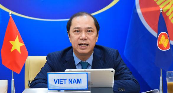 ASEAN - Nhật Bản nhất trí đảm bảo an ninh và an toàn hàng hải ở Biển Đông - Ảnh 2.