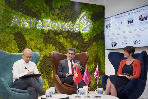 AstraZeneca tăng tốc cung ứng vắc xin cho Việt Nam - Ảnh 1.
