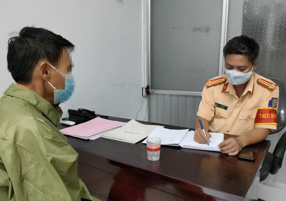 Đang ở Đắk Nông, bị hù có biên bản gây tai nạn ở... Đà Nẵng - Ảnh 1.