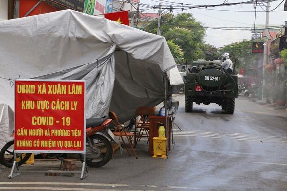 Đưa 15 xe đặc chủng tiêu độc, khử trùng tại Bắc Ninh - Ảnh 3.