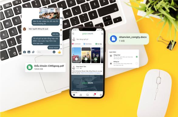 Nền tảng giao tiếp online made in Việt Nam miễn phí cho doanh nghiệp làm việc từ xa - Ảnh 1.