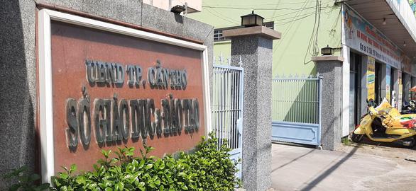 Phó giám đốc Sở GD-ĐT Cần Thơ xin nghỉ việc vì không đủ khả năng nhận nhiệm vụ giám đốc giao - Ảnh 1.