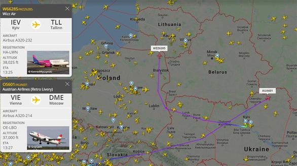 Nga từ chối 2 hãng bay châu Âu - Ảnh 1.