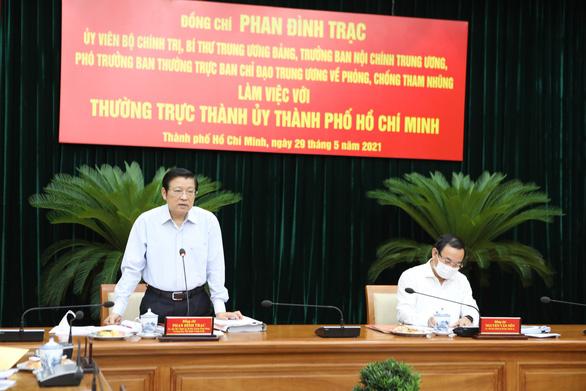 Ban Nội chính T.Ư yêu cầu đẩy nhanh xử lý các vụ việc lớn tại TP.HCM ở Thủ Thiêm, Tân Thuận, SAGRI - Ảnh 1.