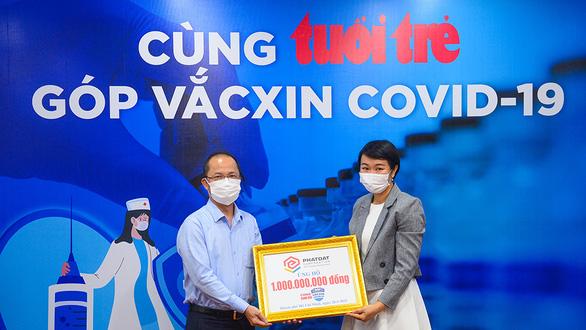 Hơn 10,3 tỉ đồng Cùng Tuổi Trẻ góp vắc xin COVID-19 - Ảnh 1.
