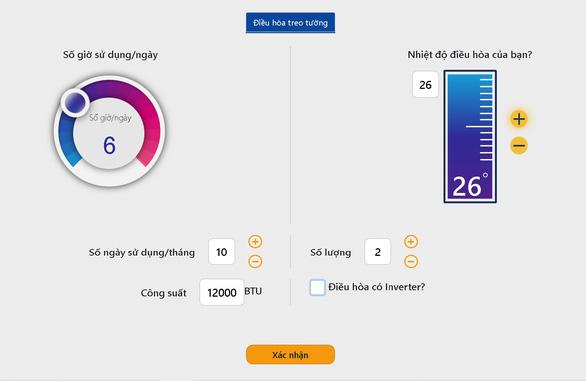 Vào mùa nắng nóng, EVN triển khai công cụ tự tính lượng điện tiêu thụ - Ảnh 1.