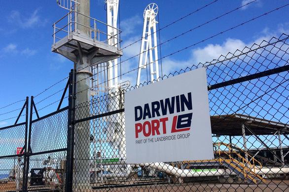 Úc xem lại việc thuê cảng Darwin của công ty Trung Quốc - Ảnh 1.