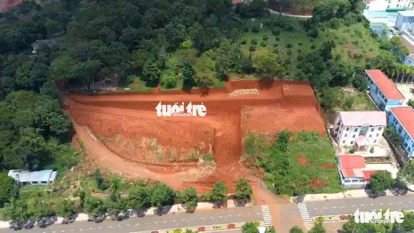 Thanh tra việc cấp phép xây dựng san lấp 1 ngọn đồi ở TP Gia Nghĩa - Ảnh 2.