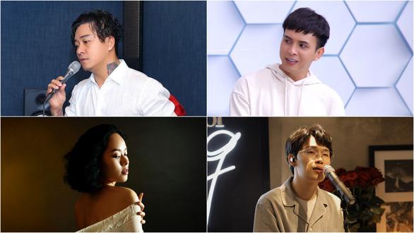 Hoàng Quyên thành nàng Eva, Quang Trung hát livestream mùa dịch đạt nửa triệu lượt xem - Ảnh 1.