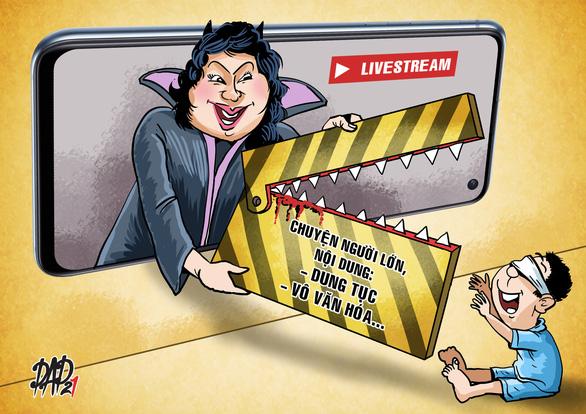Cảnh giác khi con xem livestream - Ảnh 1.