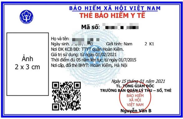 Từ 1-6, được dùng hình ảnh thẻ bảo hiểm y tế trên VssID đi khám, chữa bệnh - Ảnh 1.