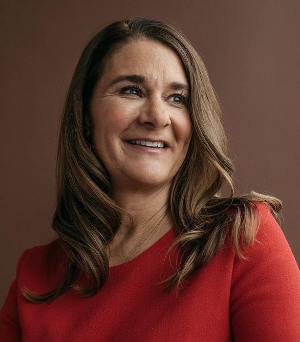 Bà Melinda Gates hi vọng Mỹ sớm ủng hộ vắc xin COVID-19 cho các nước nghèo - Ảnh 1.