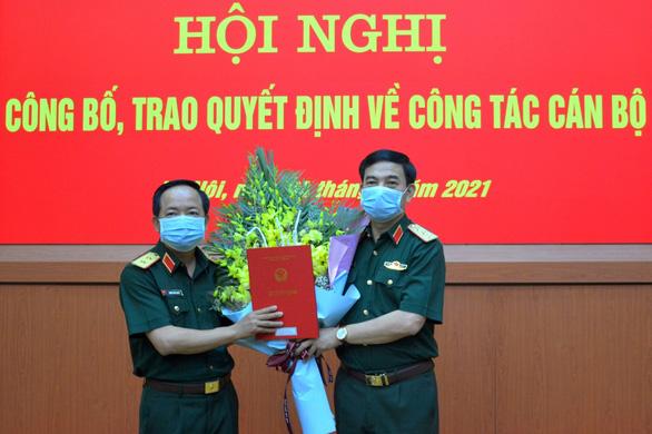 Trung tướng Trịnh Văn Quyết làm phó chủ nhiệm Tổng cục Chính trị - Ảnh 1.