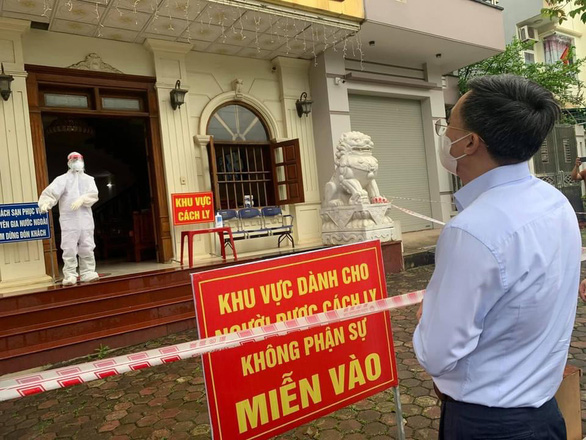 Cảnh cáo giám đốc Trung tâm Y tế TP Yên Bái vì vi phạm quản lý khu cách ly - Ảnh 1.