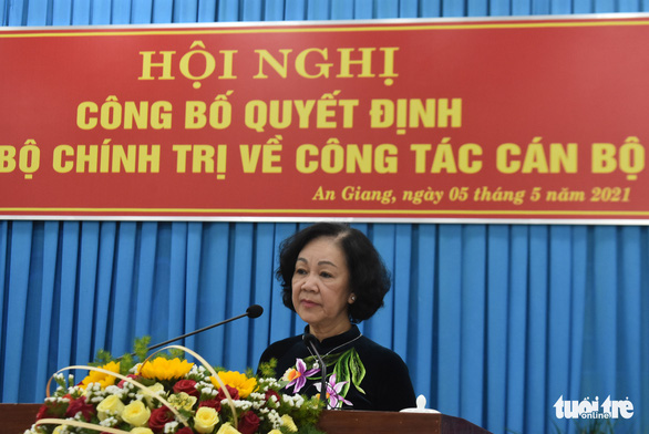 Phó chánh án TAND tối cao làm bí thư Tỉnh ủy An Giang - Ảnh 2.