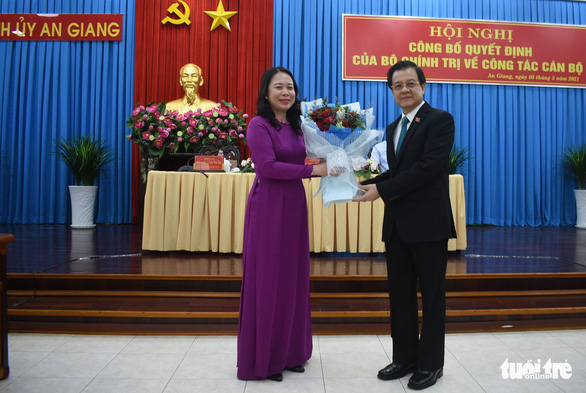 Phó chánh án TAND tối cao làm bí thư Tỉnh ủy An Giang - Ảnh 3.