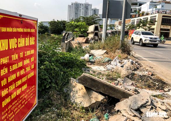 Đường Sài Gòn đâu phải bãi rác, rác ở đâu cứ mọc ra đống đống? - Ảnh 3.