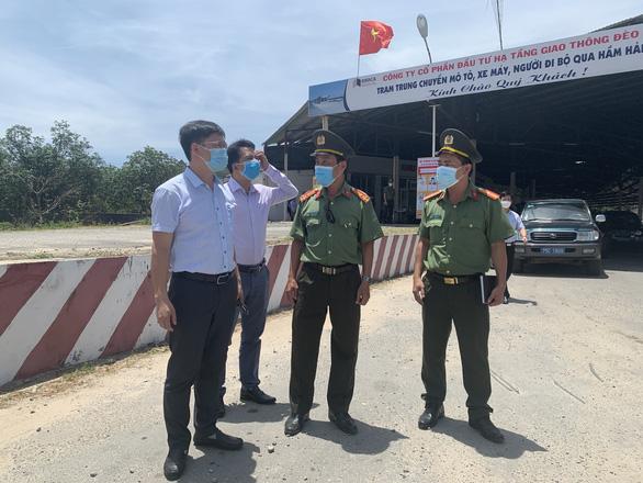Huế lập trạm giám sát ngăn COVID-19 từ các tỉnh phía nam đèo Hải Vân - Ảnh 1.