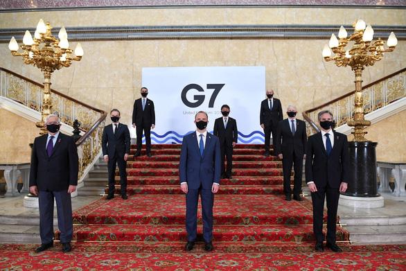 Nhóm G7 đồng lòng lên án Nga và Trung Quốc bắt nạt - Ảnh 1.
