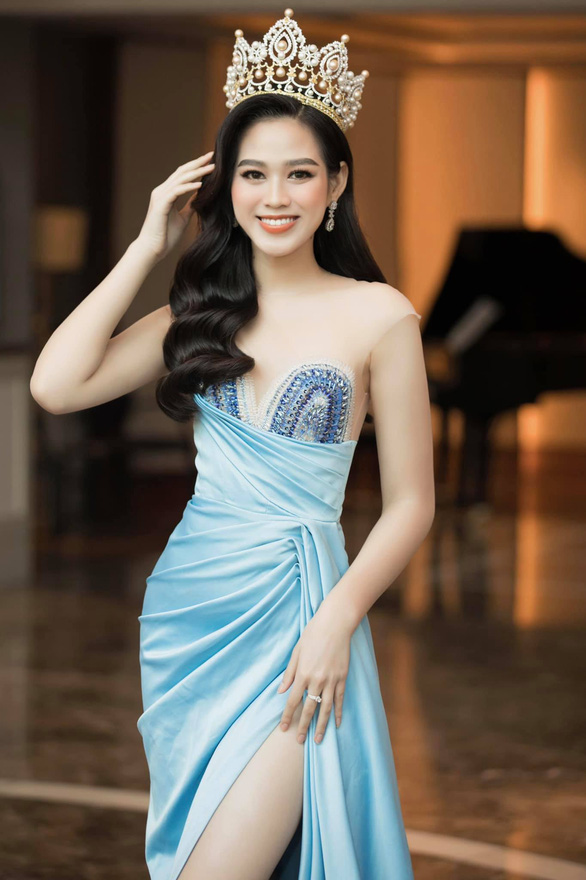 Miss My Linh, Thuy Linh appeared in the introduction clip Miss World 2021 - Photo 4.