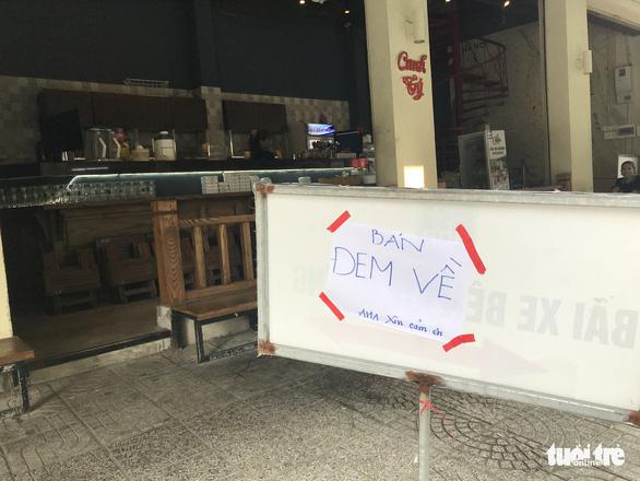 Từ trưa mai 7-5, Đà Nẵng cấm bán hàng ăn tại chỗ - Ảnh 1.