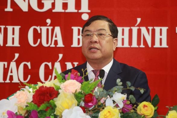 Ông Phạm Gia Túc giữ chức bí thư Tỉnh ủy Nam Định - Ảnh 1.