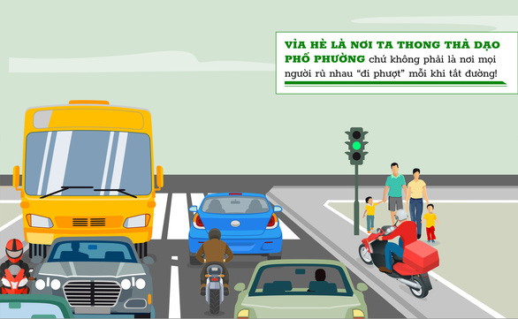 Những hành vi kém văn minh giao thông cần sớm bị xóa sổ - Ảnh 1.