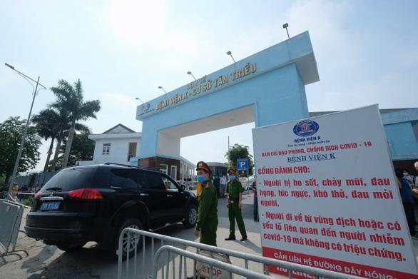 10 ca dương tính tại Bệnh viện K, chủ tịch Hà Nội yêu cầu cách ly cả 3 cơ sở của bệnh viện - Ảnh 4.