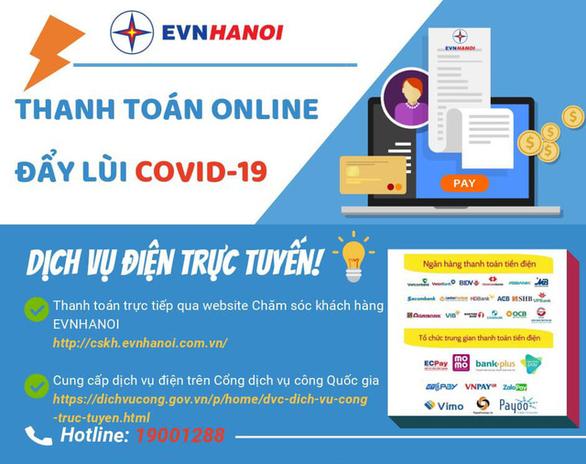 Dịch vụ điện tại Hà Nội vẫn thông suốt mùa COVID - Ảnh 1.