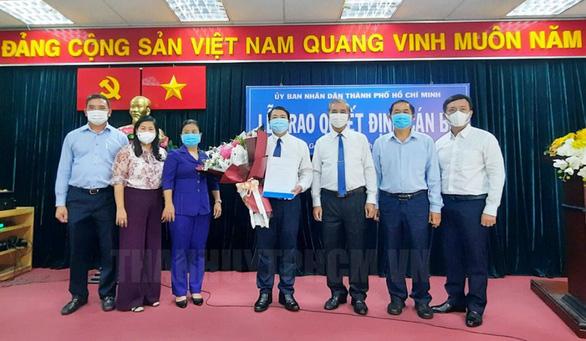 Ông Nguyễn Trí Dũng làm chủ tịch UBND quận Gò Vấp - Ảnh 1.