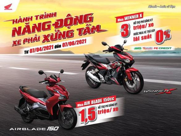 Mua xe chuẩn soái ca nhận ưu đãi hấp dẫn từ Honda Việt Nam - Ảnh 5.