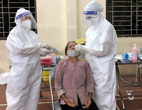 Lấy mẫu xét nghiệm COVID-19 cho 430.000 người dân TP Bắc Ninh và huyện Thuận Thành - Ảnh 1.