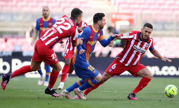 Barca chia điểm với Atletico Madrid ở trận chung kết sớm - Ảnh 3.