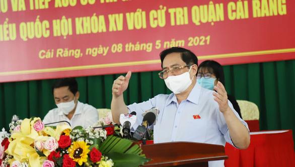 Thủ tướng Phạm Minh Chính: Cao tốc nối TP.HCM - Đồng bằng sông Cửu Long đúng là quá chậm - Ảnh 1.