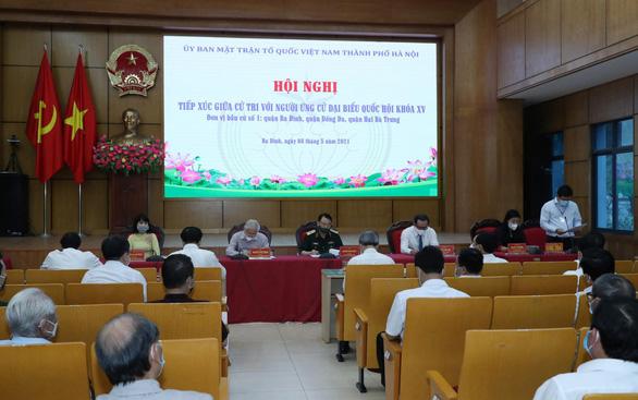 Tổng bí thư Nguyễn Phú Trọng tiếp xúc trực tuyến với hơn 2.400 cử tri Hà Nội - Ảnh 1.