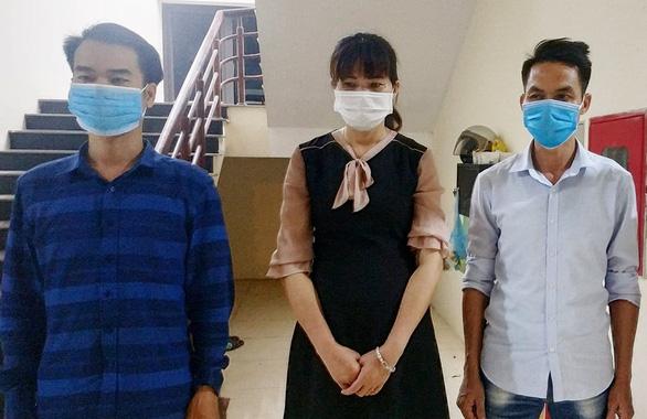 Vĩnh Phúc bắt 3 người đưa nhóm người Trung Quốc nhập cảnh trái phép - Ảnh 1.